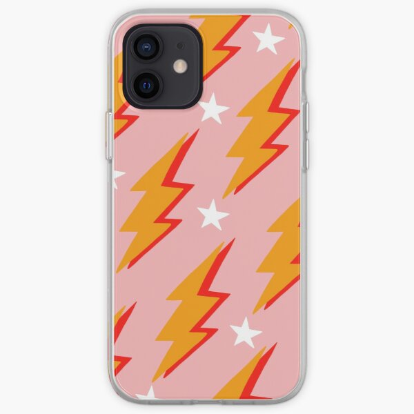 lightning bolt iPhone Soft Case