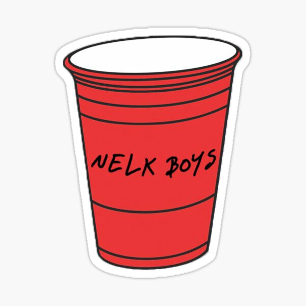 NELK Boys Full Send Cup Sticker