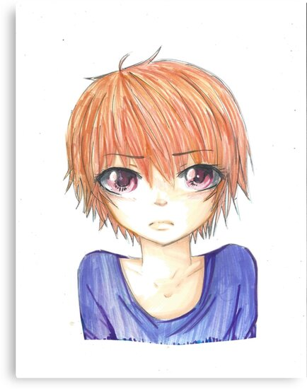 Ginger Anime Boy By InfinityS0und