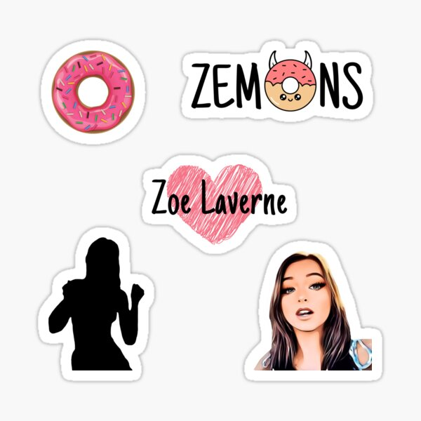 Zoe Laverne - Proud Zemon  Sticker
