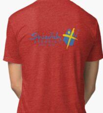 Swedish Aerobics (Hoodie) Tri-blend T-Shirt