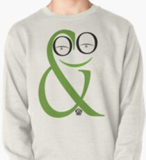 Typographical Frog Pullover
