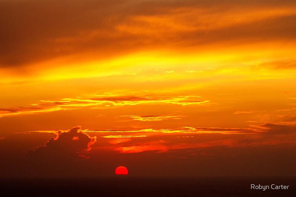 Santorini Sunset by Robyn Carter