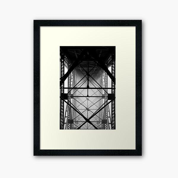 Deception Pass Bridge Framed Art Print