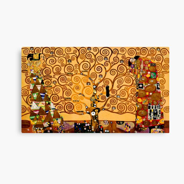 Arbre de la vie par Gustav Klimt Fine Art Impression sur toile
