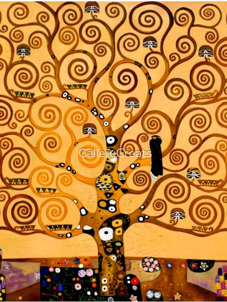 Tree of Life by Gustav Klimt Fine Art by GalleryGreats