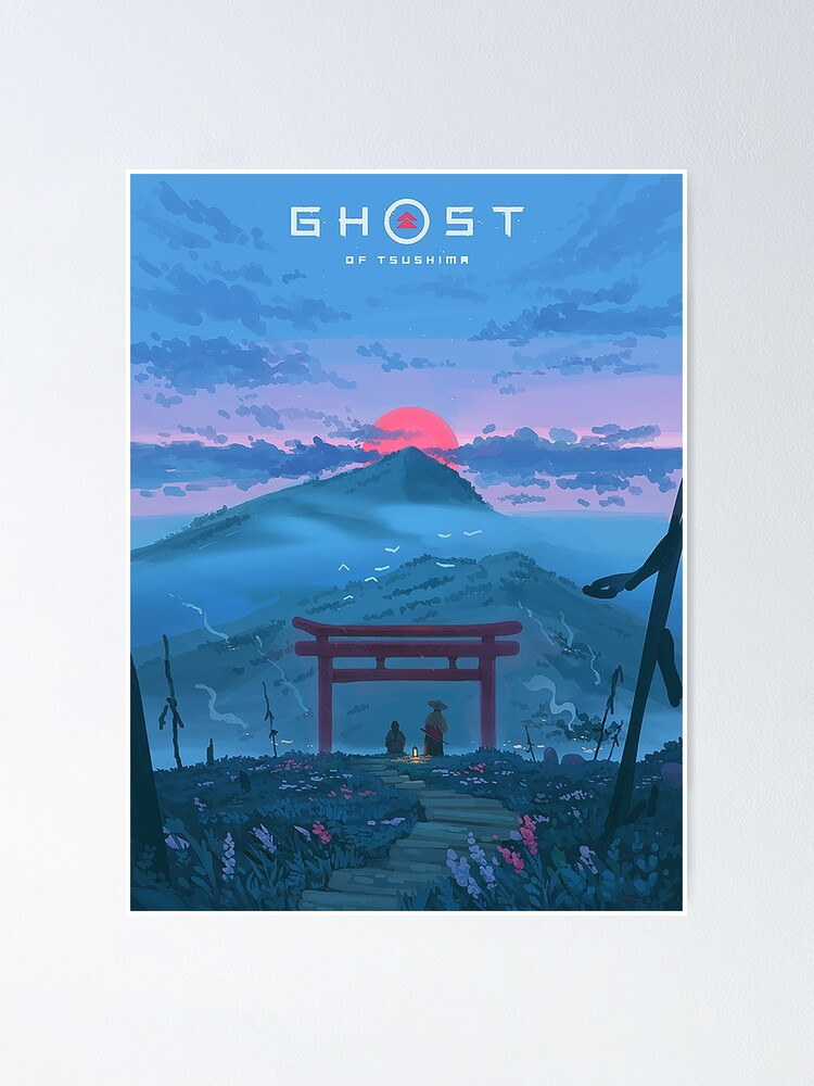 Alternate view of Ghost of Tsushima Poster