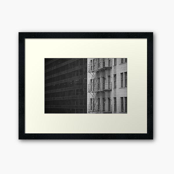 Dicotonomy Framed Art Print