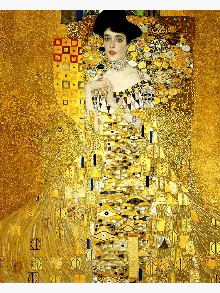 Adele Bloch-Bauer I by Gustav Klimt Fine Art by GalleryGreats