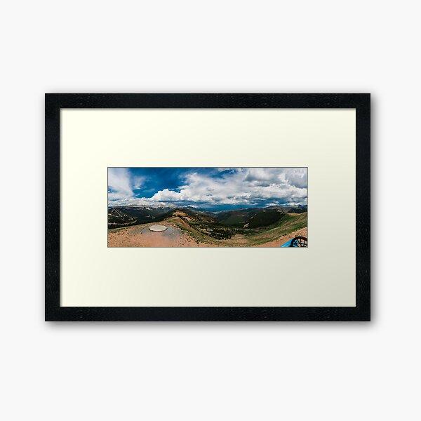 Monarch Pass Framed Art Print
