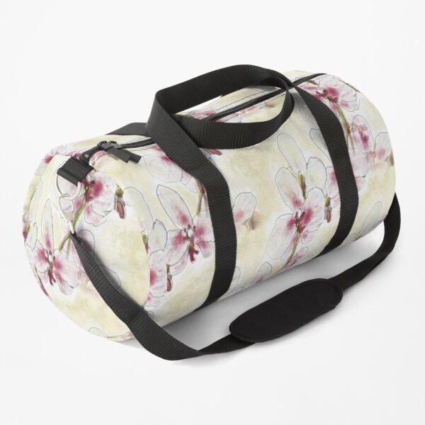 Orchid Design Duffle Bag