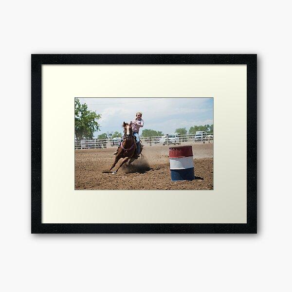 Rodeo Framed Art Print