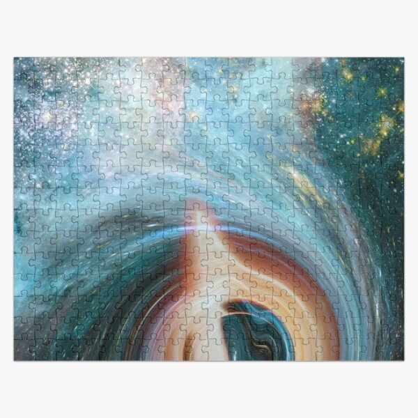 Black Hole is a region of spacetime where gravity is so strong Jigsaw Puzzle