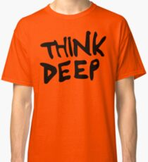 Hitchhiker's Guide to the Galaxy - Think Deep Classic T-Shirt