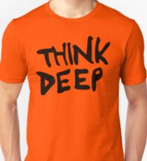 Hitchhiker's Guide to the Galaxy - Think Deep T-Shirt