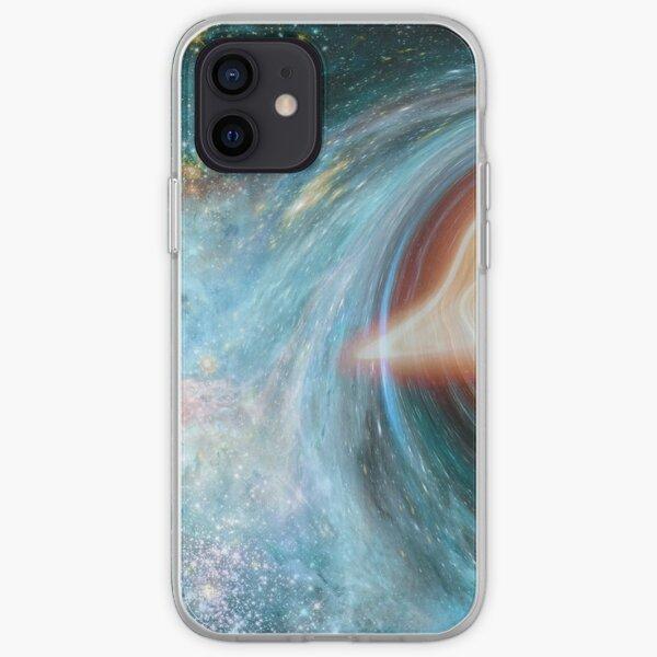 Black Hole, Spacetime, Gravity  iPhone Soft Case