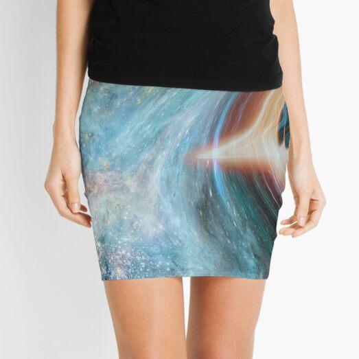 Black Hole, Spacetime, Gravity  Mini Skirt