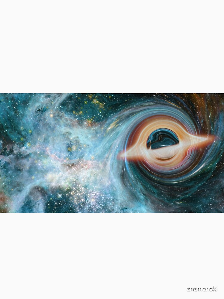 Black Hole, Spacetime, Gravity  by znamenski