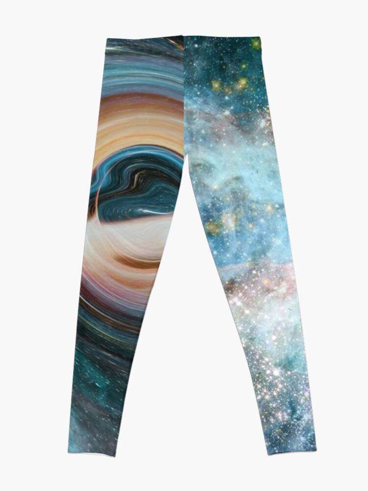 Alternate view of Black Hole, Spacetime, Gravity  Leggings