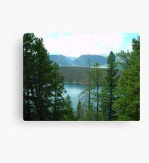 Dillon Reservoir - Summit County, Colorado Canvas Print