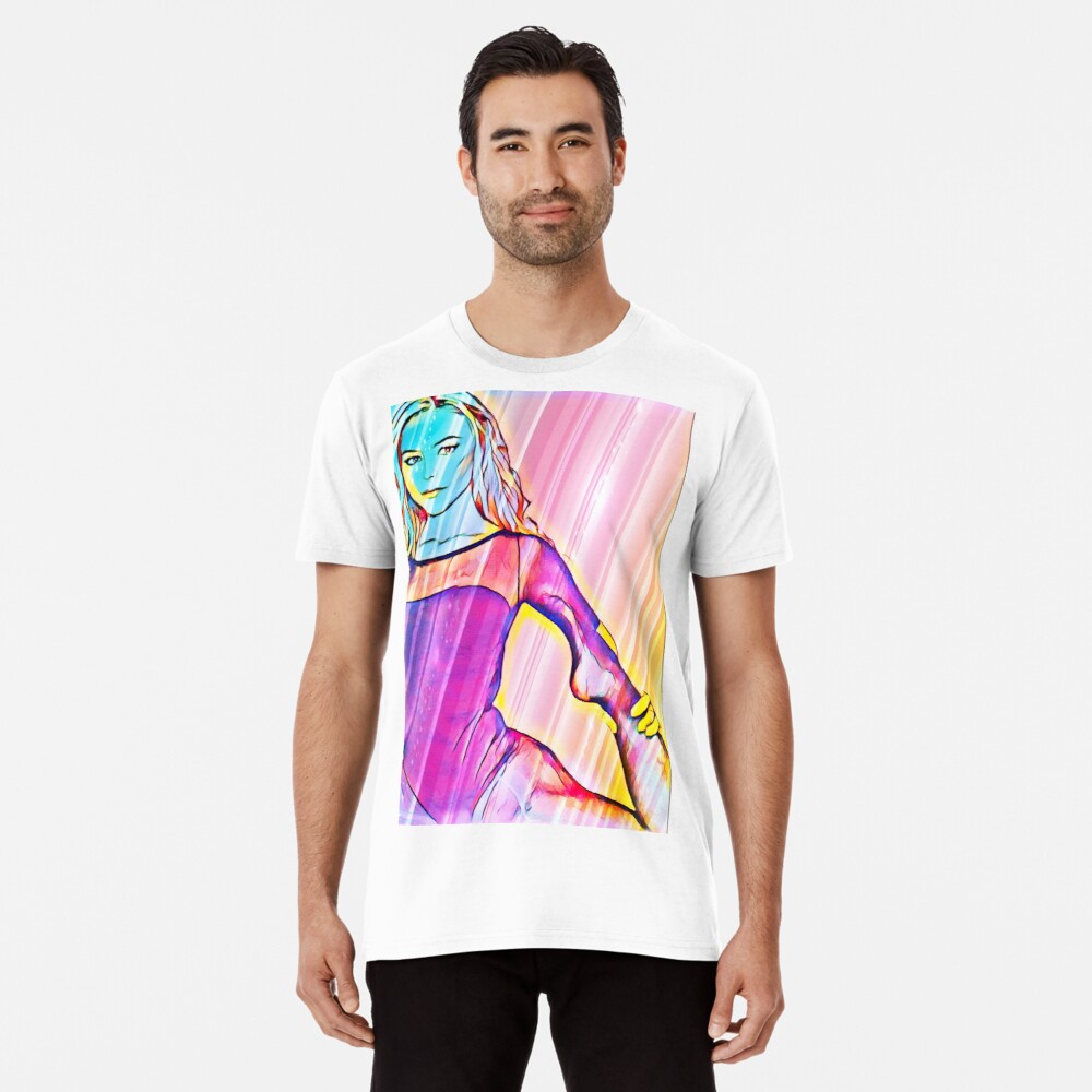 Pop Art Ballerina  Premium T-Shirt