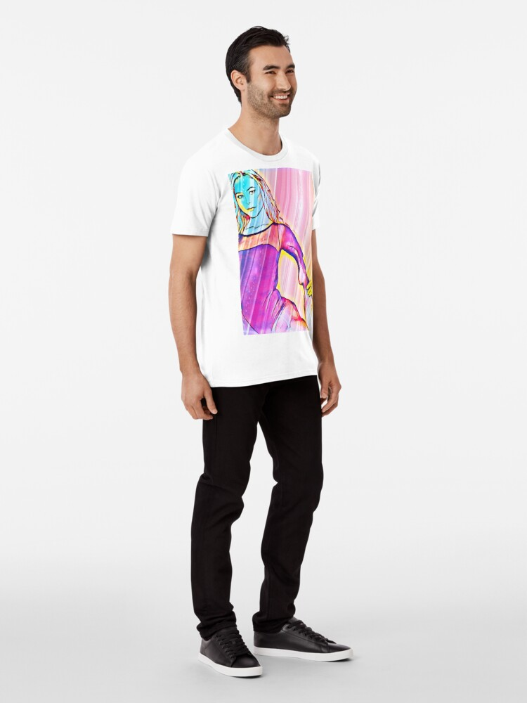 Alternate view of Pop Art Ballerina  Premium T-Shirt
