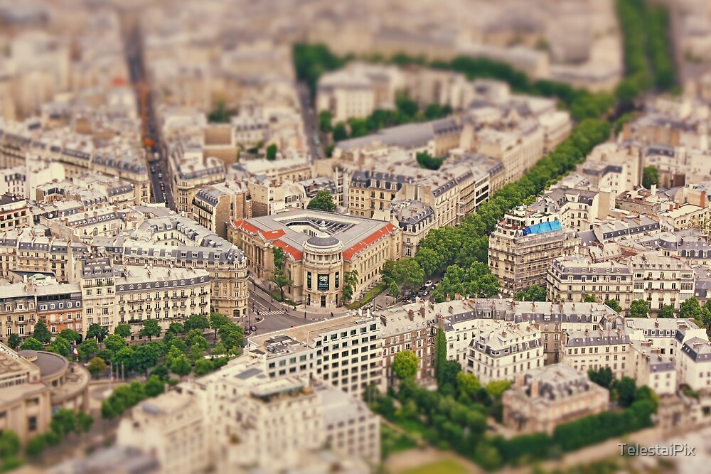Paris or Just a Model? by TelestaiPix