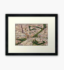 Paris or Just a Model? Framed Print