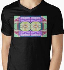 SELFIE MANIA Mens V-Neck T-Shirt