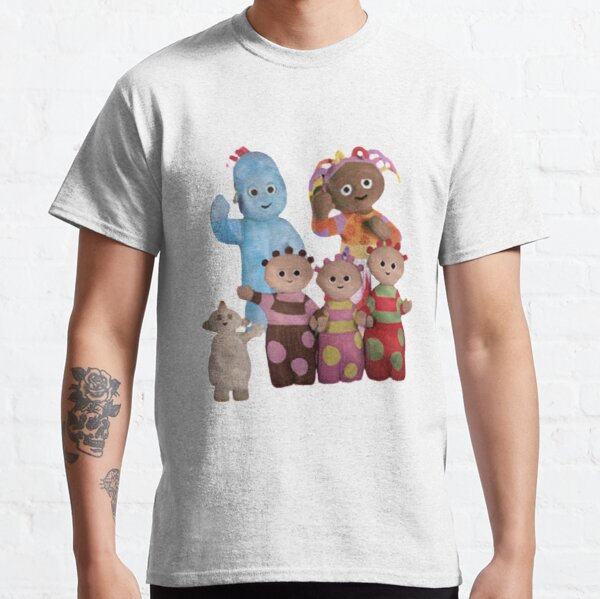 Kids In the Night Garden T-ShirtBoys Iggle Piggle TeeUpsy Daisy Top