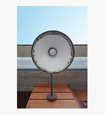 Vintage Outdoor Lamp Photographic Print