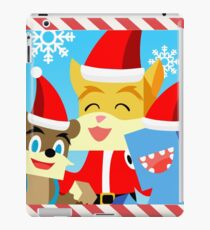 Minecraft Youtuber Stampy Cat, iBallisticsquid, L for Lee x (Christmas, Holiday, Winter Limited Edition) iPad Case/Skin