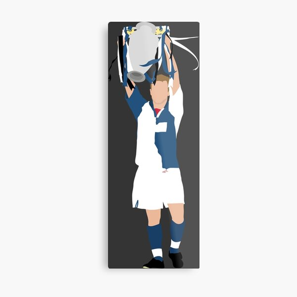 Alan Shearer, Blackburn Rovers. Metal Print