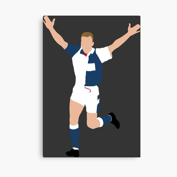 Alan Shearer, Blackburn Rovers. Canvas Print