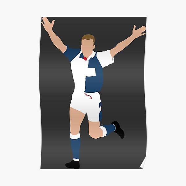 Alan Shearer, Blackburn Rovers. Poster