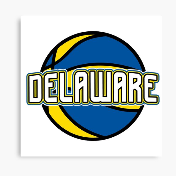 Delaware Basketball Canvas Print