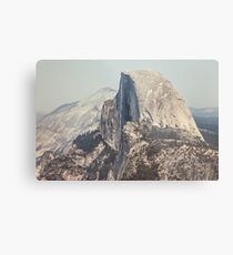 Half Dome in Yosemite National Park Metal Print