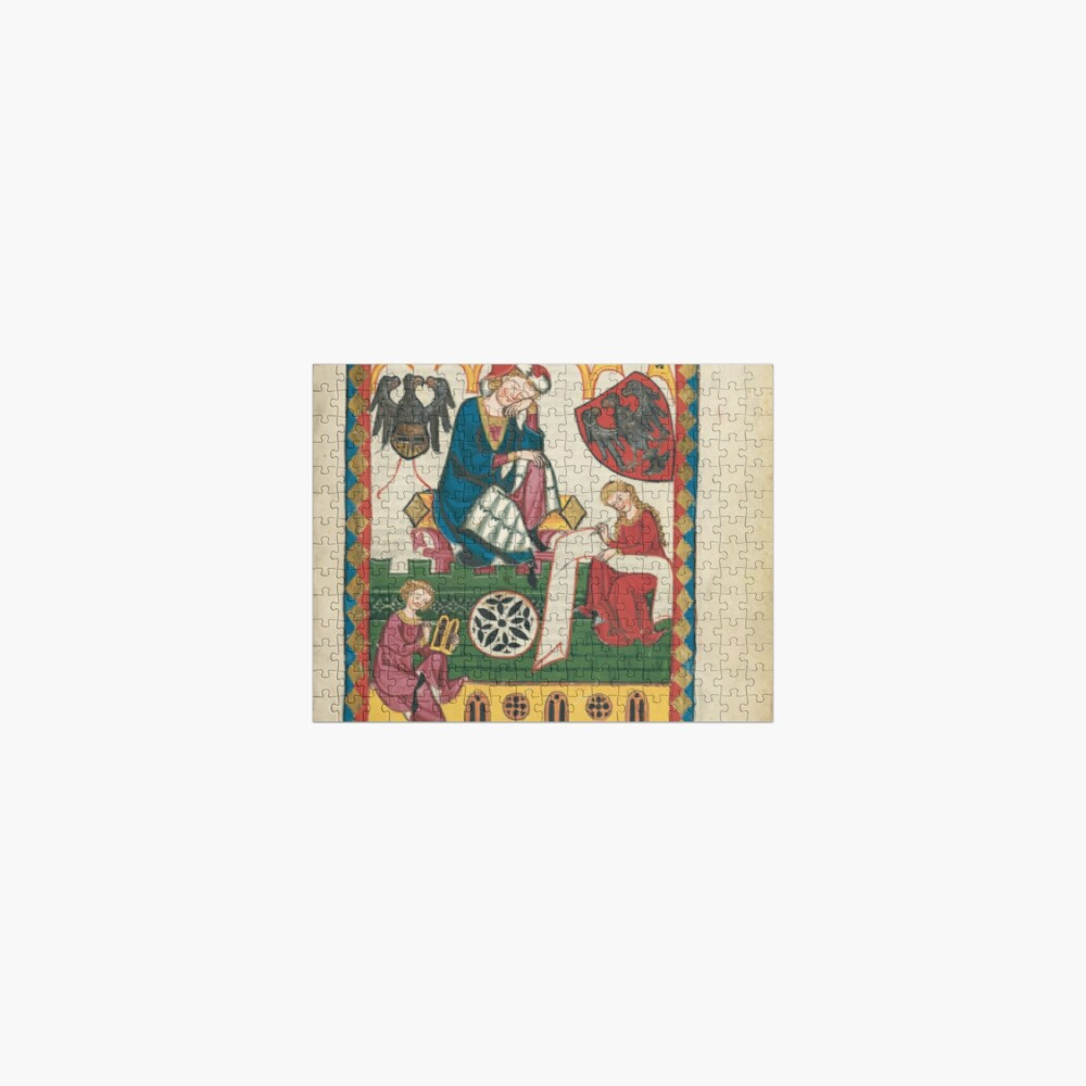Medieval Court of Chancery Jigsaw Puzzle