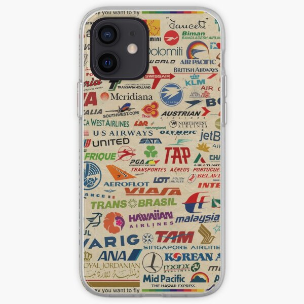 AIRLINES  iPhone Soft Case