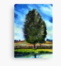Tree - acryl Canvas Print