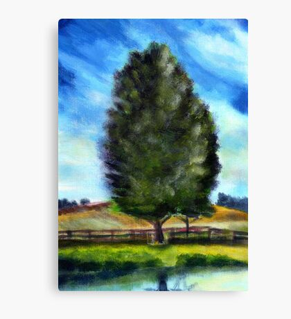 Tree - acryl Canvas Print