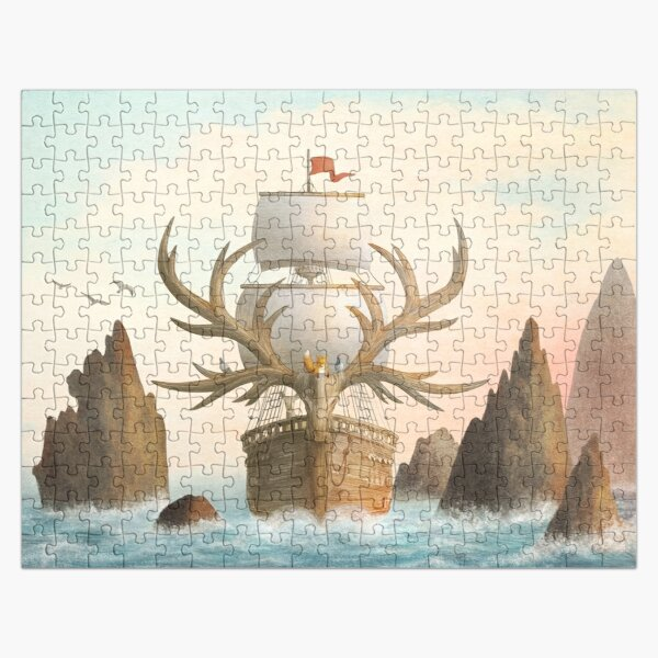 The Antlered Ship_Cover Jigsaw Puzzle