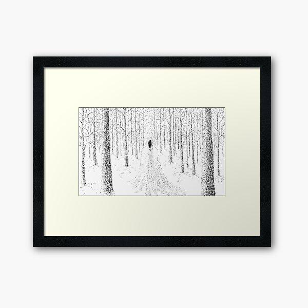 Midwinter rite Framed Art Print
