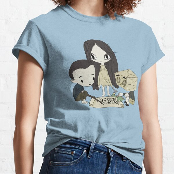 It's okay to not be okay cartoon animation dolls kdrama story book fairytale  Classic T-Shirt