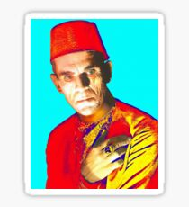 Boris Karloff in The Mummy Sticker