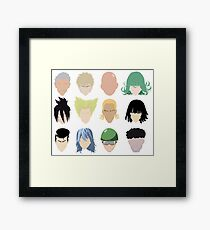 Heroes (And Some Villians) Framed Print