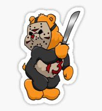 Jason Bear Sticker