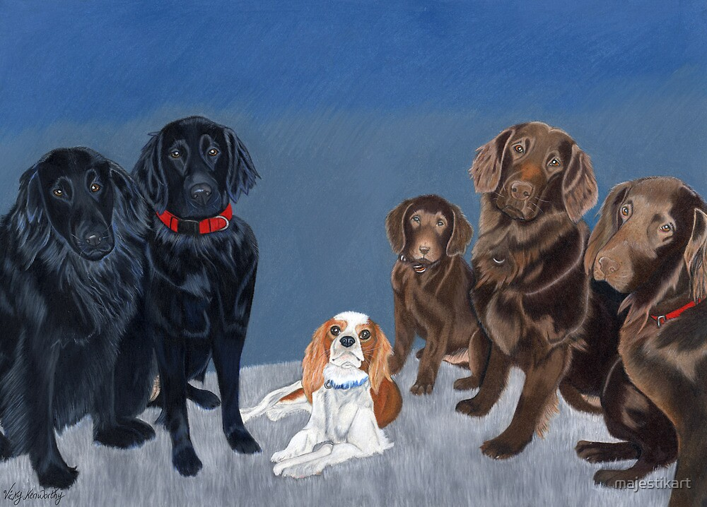"""""""Family knows no breed"""" by majestikart"""