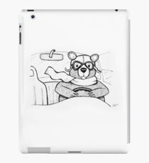 Driving Bear iPad Case/Skin