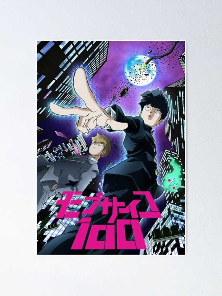 Alternate view of Mod Psycho 100 Poster
